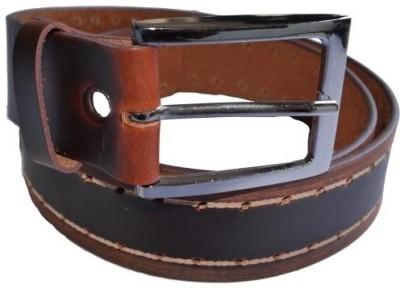 Cuero Men Casual, Formal Brown, Black Genuine Leather Belt