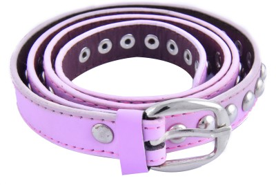 DEWY Women Casual Pink Artificial Leather Belt