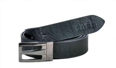 Sash Men Formal Black Genuine Leather Belt