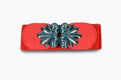 Victoria Secret Women Red Fabric Belt
