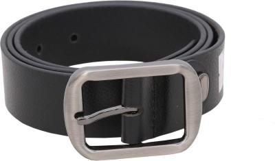 Flirt Men Black Genuine Leather Belt