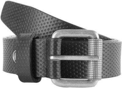 Kara Men Formal Black Genuine Leather Belt