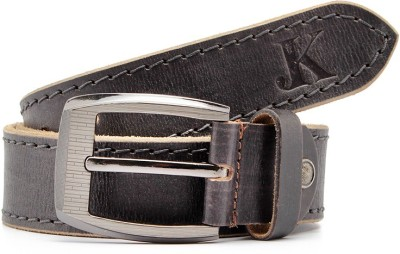 Junckers Men, Boys Casual, Party, Evening Black Genuine Leather Belt
