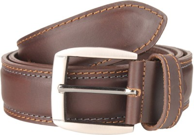 Umda Men Casual Brown Genuine Leather Belt