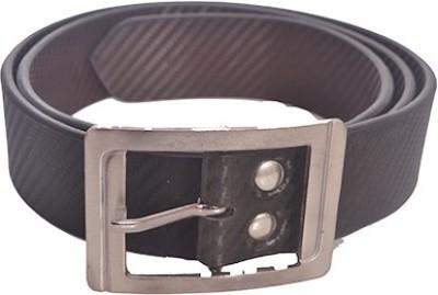 Aam Shopping Men Black Artificial Leather Belt