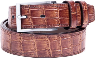 Ladecor Men Casual Brown Artificial Leather Belt