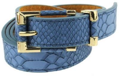 Ruvee Girls, Women Blue Artificial Leather Belt