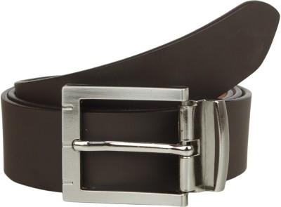 KRG ENTERPRISES Men, Boys Formal, Casual, Party Brown Genuine Leather Belt