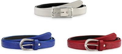 Arum Girls Formal, Casual Multicolor Artificial Leather Belt