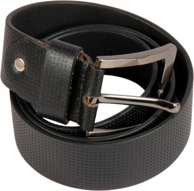 Dertaste Men Party Black Artificial Leather Belt