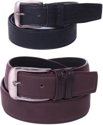 Creative Terry Men Multicolor Genuine Leather Belt