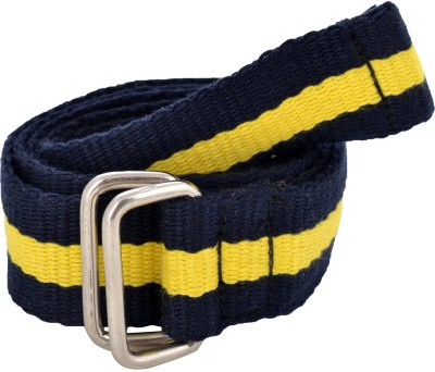Online Maniya Men Casual Blue Canvas Belt