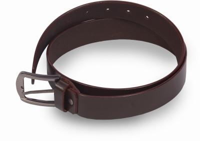 VICTORIA SECRET INDIA Men Formal Brown Artificial Leather Belt