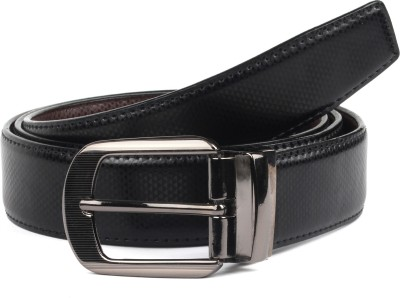 abrazo Men, Boys Black, Brown Artificial Leather Reversible Belt