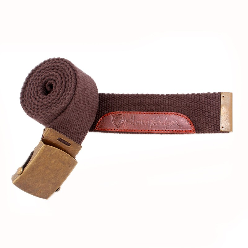 Honey Badger Men Casual Brown Belt