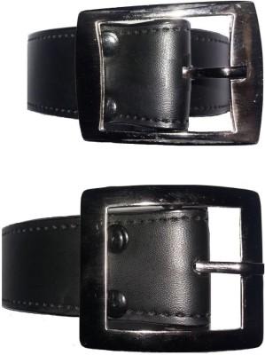 REDWOOD Boys, Men Black Artificial Leather Belt
