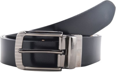 Black Bull Men Formal Black Genuine Leather Belt