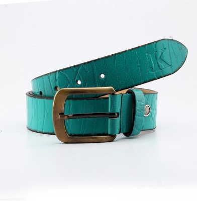 Junckers Men, Boys Casual, Party, Evening Blue Genuine Leather Belt