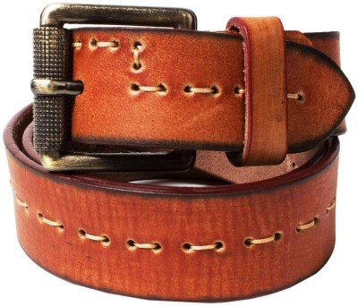 Top Flyte Men, Boys Brown Genuine Leather Belt
