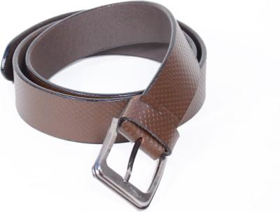 ROYAL ESTILO Men, Boys Formal, Party, Casual, Evening Brown Genuine Leather Belt