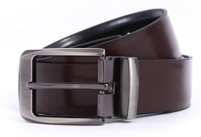 Bluth Men Formal Brown Artificial Leather Belt
