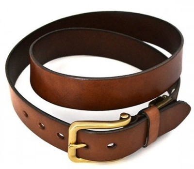 Srbelt Men Brown Texas Leatherite Belt