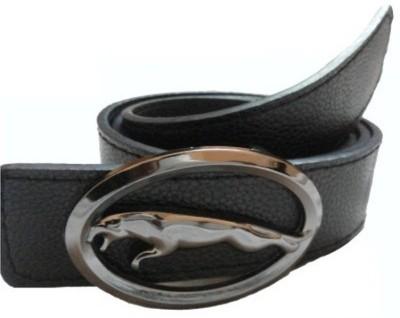 JK Import Men, Boys Black Synthetic Belt