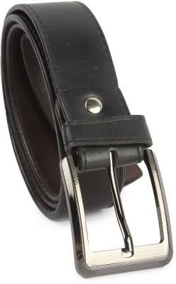 Zymour Men Black Artificial Leather Belt