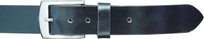 Adhaans Men Casual Black Genuine Leather Belt