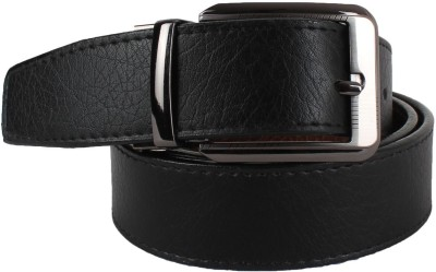 Yours Luggage Men Casual, Evening, Formal, Party Black, Brown Artificial Leather, Genuine Leather, Synthetic Reversible Belt