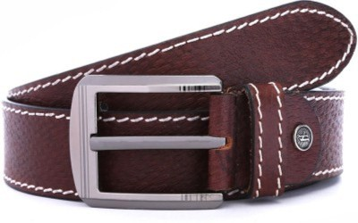 Ruchiworld Boys, Girls, Men Formal Brown Genuine Leather Belt