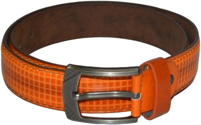Gen Men Casual Brown Artificial Leather Belt