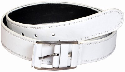 Swan Collection Boys, Girls Casual, Evening White Artificial Leather Belt