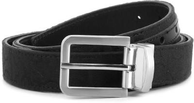 Calvin Klein Women Black Genuine Leather Reversible Belt