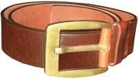 Black Bull Men Casual Brown Genuine Leather Belt best price on Flipkart @ Rs. 419
