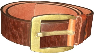 Black Bull Men Casual Brown Genuine Leather Belt