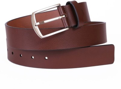 OceanEnterprises Men, Boys Casual, Party, Formal Brown, Maroon Genuine Leather Belt