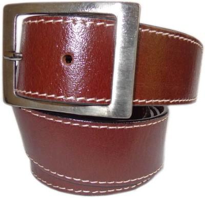Good Life Stuff Men Formal Brown Genuine Leather Belt