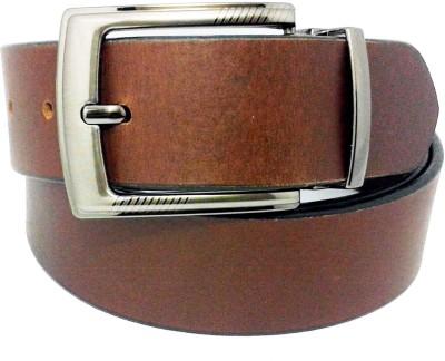 Sanshul Men Brown Genuine Leather Belt