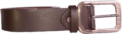BeltsMB Men Brown Genuine Leather Belt