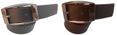 B.S.Chadha Group Men Formal Multicolor Artificial Leather Belt
