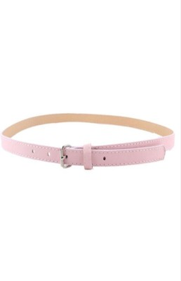 Indian Swan Girls, Women Party Pink Artificial Leather Belt