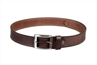 Ligans Ny Men Casual Brown Genuine Leather Belt
