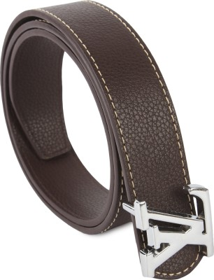 Lotus Designer Men Casual Brown Texas Leatherite Belt