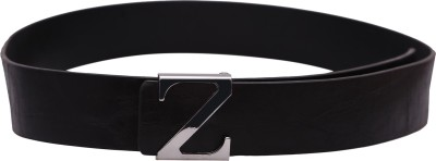 Stylehoops Boys, Men Black Genuine Leather Belt
