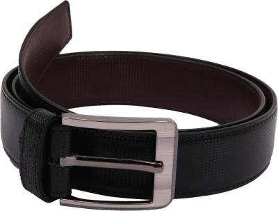 Bharat Fashion Boys, Men Black Artificial Leather Belt