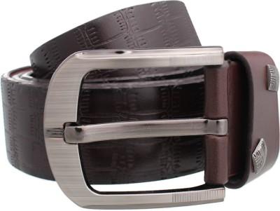 Tele Queen Men Casual Brown Artificial Leather Belt