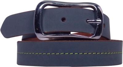 Ekora Girls Casual Blue Genuine Leather Belt