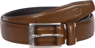 Kaizu Men Formal Brown Genuine Leather Belt
