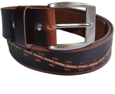 Cuero Men Casual, Formal Brown Genuine Leather Belt